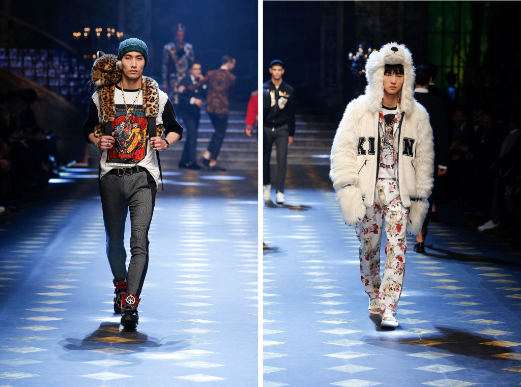 dolce and gabbana fall winter 2017 18 men fashion show runway 36 copy 1024x760 Dolce & Gabanna PreFall 2017: una apuesta millennial