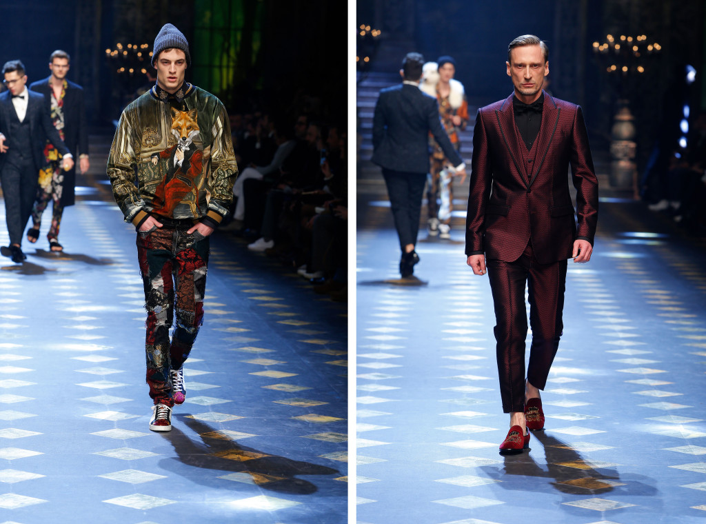 dolce and gabbana fall winter 2017 18 men fashion show runway 36 copy 2 1024x760 Dolce & Gabanna PreFall 2017: una apuesta millennial
